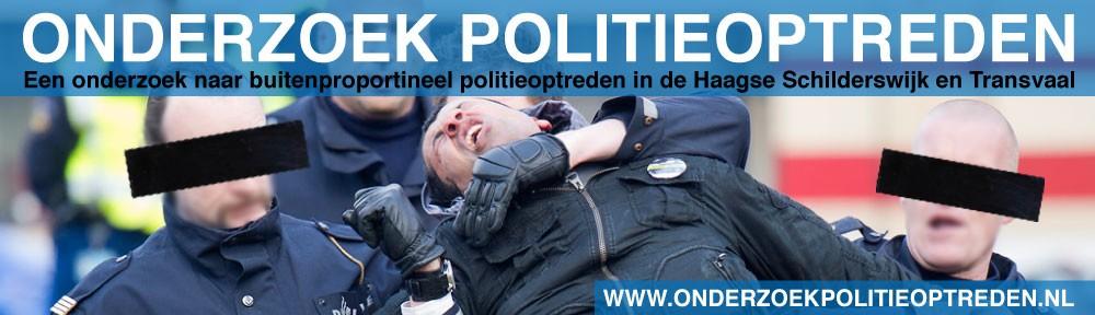 Onderzoek politieoptreden